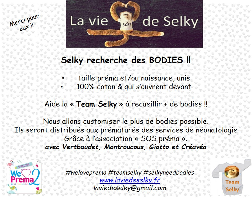 affiche SOS prema selky