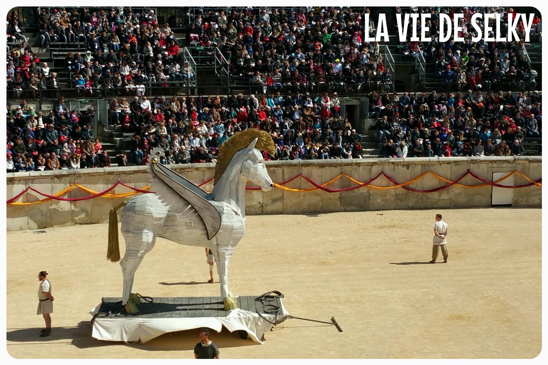 """Selky a kiffé """"Les Grands Jeux Romains"""" de Nîmes 10"""