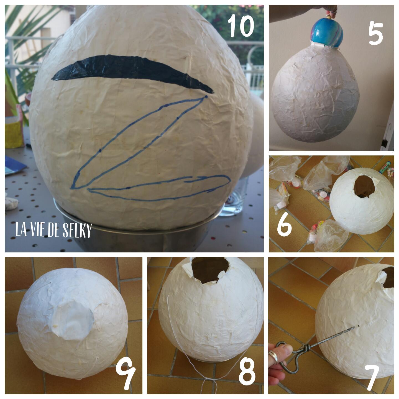 Selky fabriqua ouna Piñata del Zorro #DIY 3