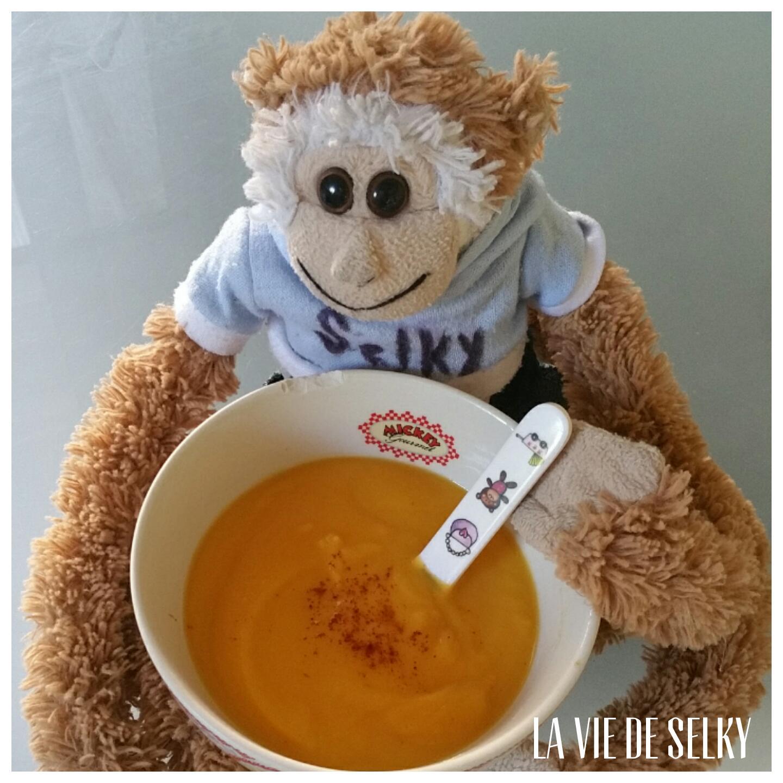 Selky cuisine une soupe de butternut au lait de coco 1