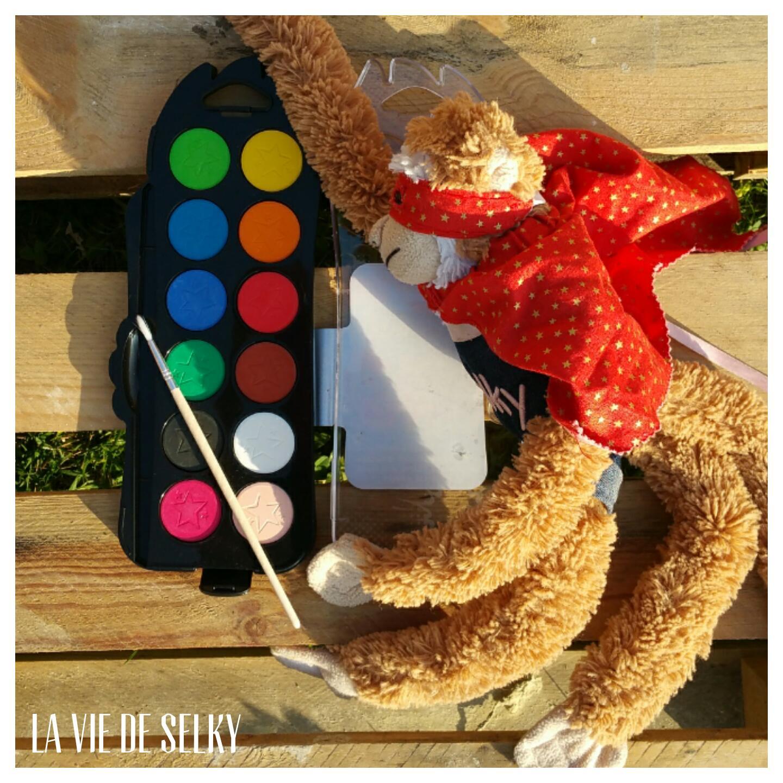 Selky teste la peinture de Super Héros et te gâte #SuperHerosMaped 4