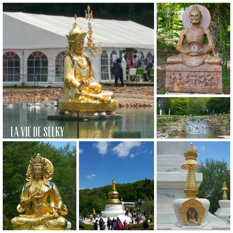 Selky a visité le temple bouddhiste Lerab Ling 6
