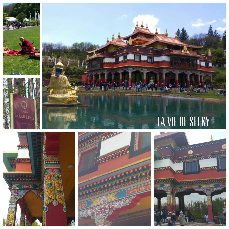Selky a visité le temple bouddhiste Lerab Ling 4