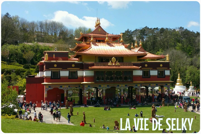 Selky a visité le temple bouddhiste Lerab Ling 2