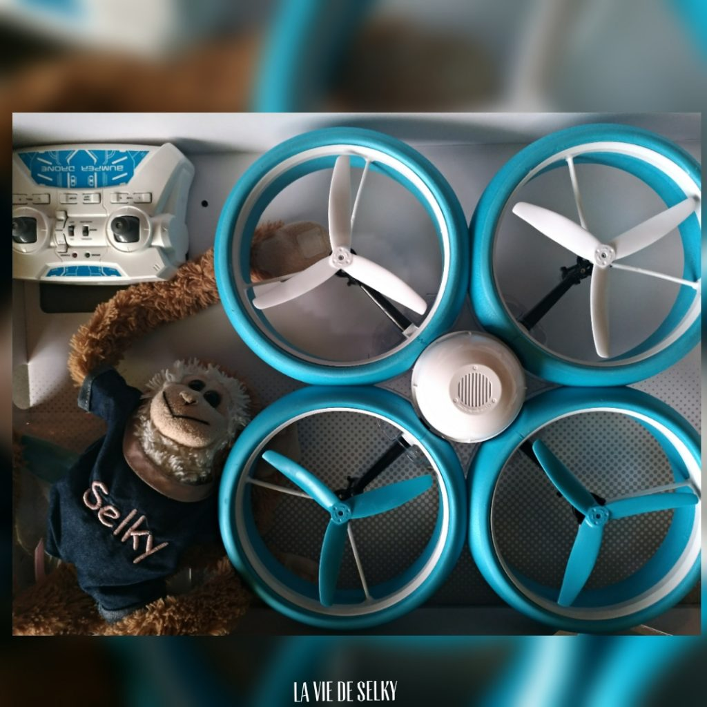 selky prepare noel bumper drone
